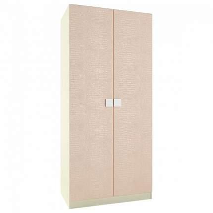 Платяной шкаф Компасс-мебель Александрия премиум АМ-1 90x53x200,5, береза снежная