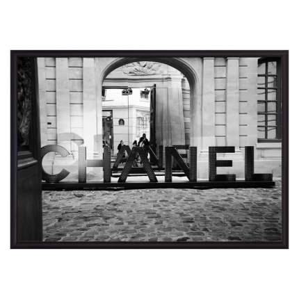 Постер в рамке Chanel 21 х 30 см Дом Корлеоне