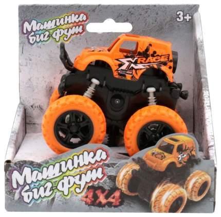 Инерционная машинка 4х4, оранжевая Funky Toys