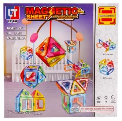 Магнитный конструктор Creativity, 30 деталей