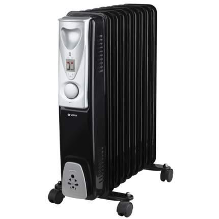 Масляный радиатор Vitek VT-1718 черный
