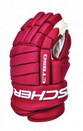 Перчатки игрока Fischer CT850 Custom (красный), 14'