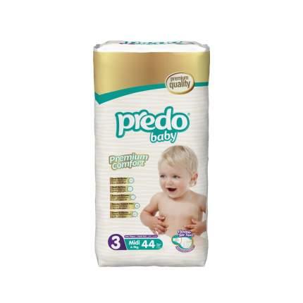 Подгузники Predo Baby Midi №3 Преимущественная 44 шт. 4-9 кг