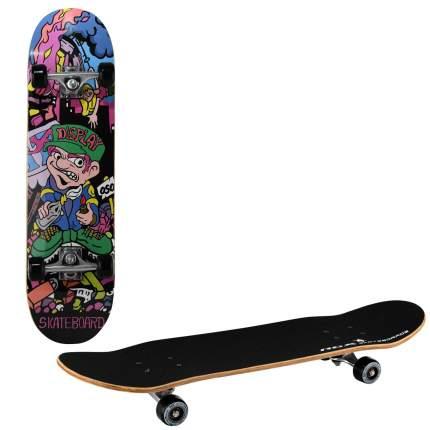 Скейтборд RGX LG 301 79 x 20 см разноцветный