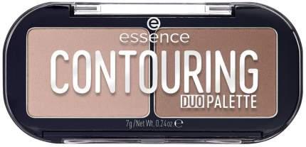 Корректор для лица essence Сontouring duo palette 10 Lighter Skin