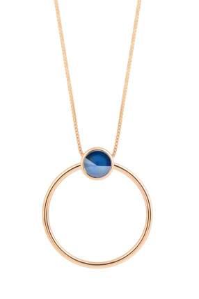 Колье женское Fiore Luna B1611.23 RG синее