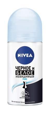Антиперспирант Nivea Пьюр Невидимая защита для черного и белого 50 мл