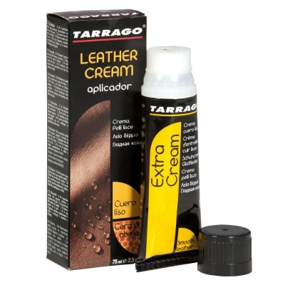 Крем для обуви TARRAGO Leather cream черный 75мл