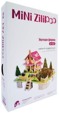 """Картонный 3D-пазл """"Уютная ферма"""" (38 деталей)"""