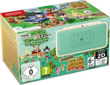 Игровая приставка New Nintendo 2DS XL Animal Crossing Edition, Ограниченное издание