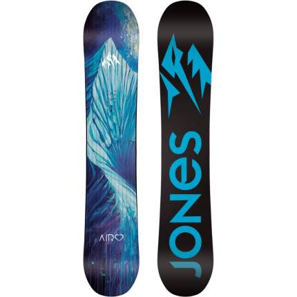 Сноуборд Jones Airheart 2020, black/blue, 152 см
