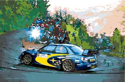 Картина по номерам Живопись по Номерам Гоночная машина, 40x60