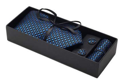 Мужской подарочный набор в праздничной упаковке (галстук+запонки+платок)