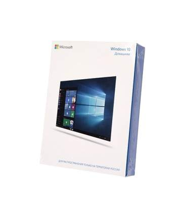Операционная система Microsoft Windows 10 Home 32/64 bit Rus Only USB RS