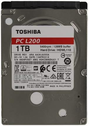Внутренний жесткий диск Toshiba L200 1TB (HDWL110EZSTA)