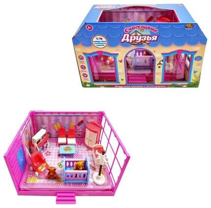 """Игровой набор Abtoys """"Счастливые друзья: Детская комната"""" 13 пред."""