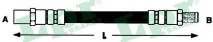 Шланг тормозной системы Lpr 6T46586
