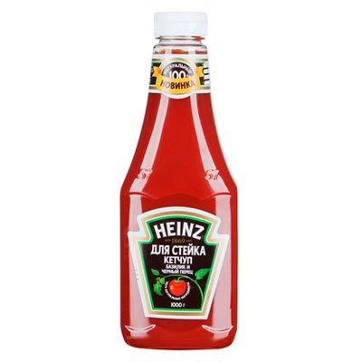 Кетчуп Heinz для стейка базилик и черный перец 1 кг