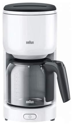 Кофеварка капельного типа Braun KF 3100 White