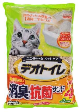 Впитывающий наполнитель для кошек UNICHARM силикагелевый, 1 кг, 2 л