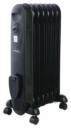 Масляный радиатор Scarlett SC 21.1507 S3 черный