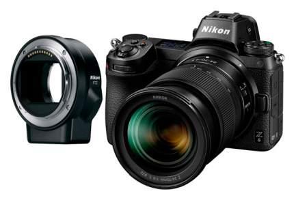 Фотоаппарат системный Nikon Z6 24-70mm FTZ Adapter Black