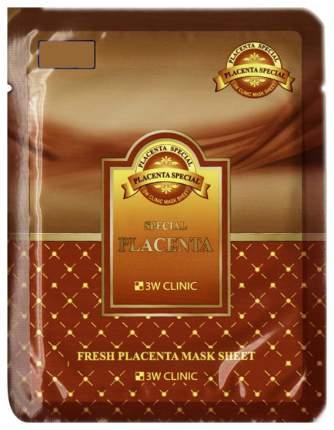 Маска для лица 3W Clinic Fresh Placenta Mask Sheet 23 мл