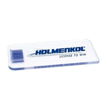 Скребок Holmenkol Plastic Scarper Pro голубой/белый
