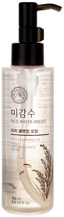 Масло для лица The Face Shop Rice Water Bright Cleansing Rich 150 мл