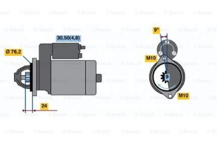 Стартер Bosch 0 986 021 510