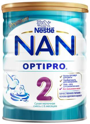 Молочная смесь NAN Nestle 2 Optipro с 6 месяцев 800 г