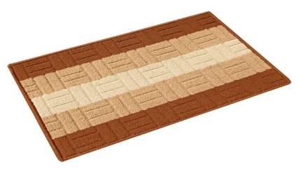 Коврик текстильный Vortex Milan 40х60 см Светло-коричневый