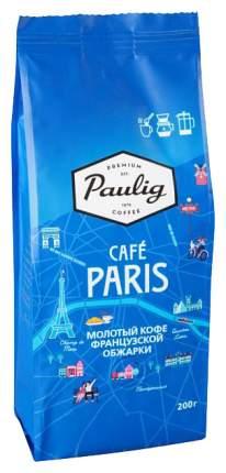 Кофе Paulig Paris молотый 200 г