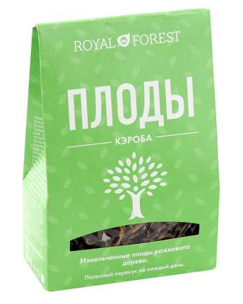 Плоды рожкового дерева Royal Forest измельченные 100 г