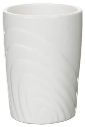 Стакан для зубных щеток Spirella Sand керамика Белый