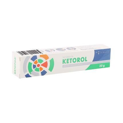 Кеторол гель 2 % 30 г