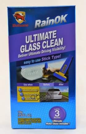 Очиститель Антидождь для стекол, зеркал с губкой ULTIMATE GLASS CLEAN 100г
