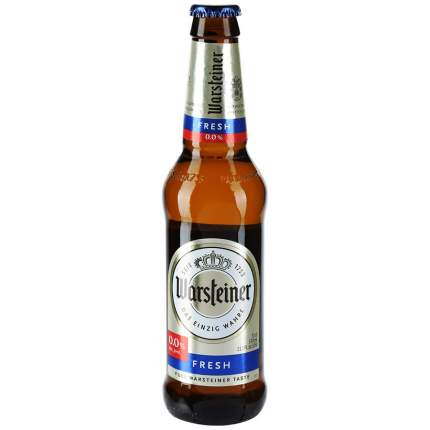 Пиво Warsteiner fresh безалкогольное 0.33 л
