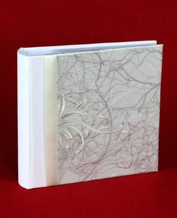 """Фотоальбом свадебный """"Вышивка"""" на 100 фото 15х21 см, книжный переплёт, подарочный кейс"""