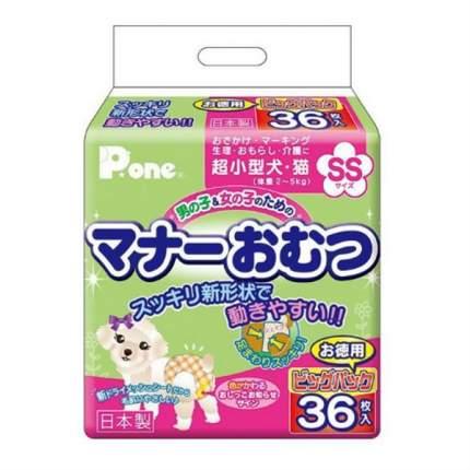 Подгузники Daiichi Eizai многоразовые унисекс для собак и кошек (20-35 см, 32 шт)