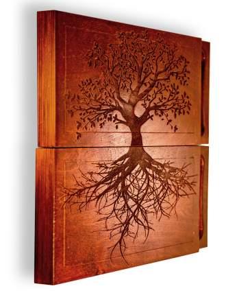 Доска садху Sadhu RaWays Дерево Жизни прямоугольная коричневая