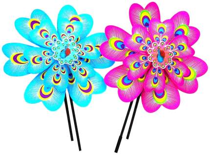 Двойной ветрячок цветок 37 см Shantou Gepai PW37 4