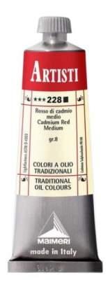 Масляная краска Maimeri Artisti 228 кадмий красный средний 60 мл