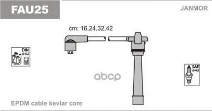 Комплект проводов зажигания JANMOR FAU25