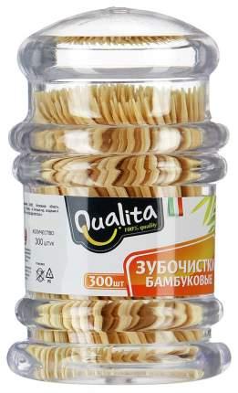 Зубочистки Qualita Бамбуковые 300 шт