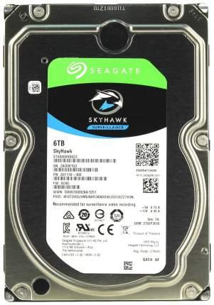 Внутренний жесткий диск Seagate SkyHawk Surveillance 6TB (ST6000VX0023)