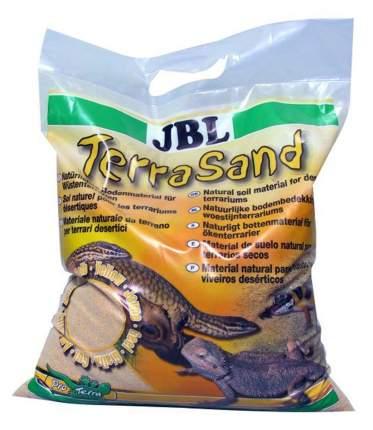Натуральный песок для террариумов JBL TerraSand weiss, бежевый, 4,75 кг, 5 л