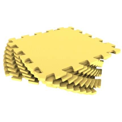 Мягкий пол универсальный ECO COVER 33*33 см желтый