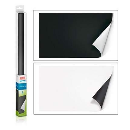 Фон-пленка JUWEL Poster черный/белый 100х50см