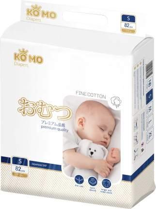 Подгузники для новорожденных Ko Mo S (3-6 кг) 82 шт.